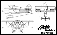 Pitts Model 14 3-Views