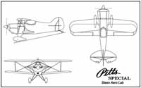 Pitts S1 3-Views