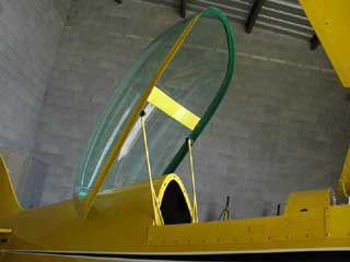 ... The canopy is well balanced and allows easy ingress. & Steen Aero Lab - Aircraft Products - Bubble Canopies